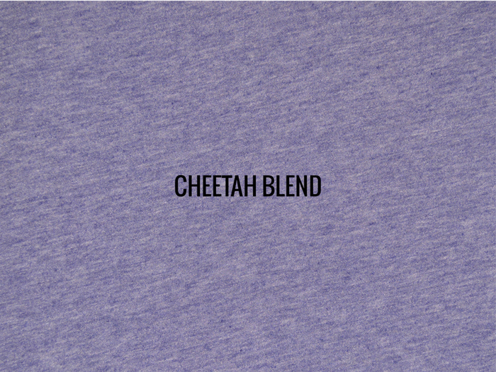 """CHEETAH RINGSPUN BLEND""   I   Shirt / Hoodie Fabric"