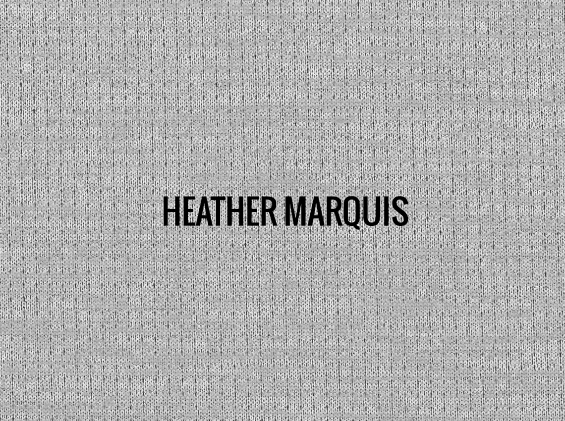 """HEATHER MARQUIS""  I  Shirt Fabric"