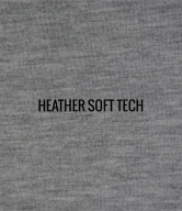 """HEATHER SOFT TECH""   I   Shirt / Hoodie Fabric"