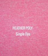 """HEATHER POLY"" Single Dye   I   Shirt Fabric"
