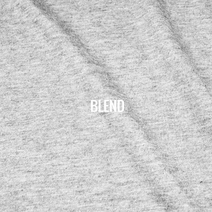 """BLEND"" I Shirt Fabric I Ringspun cotton & poly blend. Super soft and lightweight, this shirt moves well and is designed with a casual and very current look. Available solid or in heather textured finish. Perfect for everyday wear."