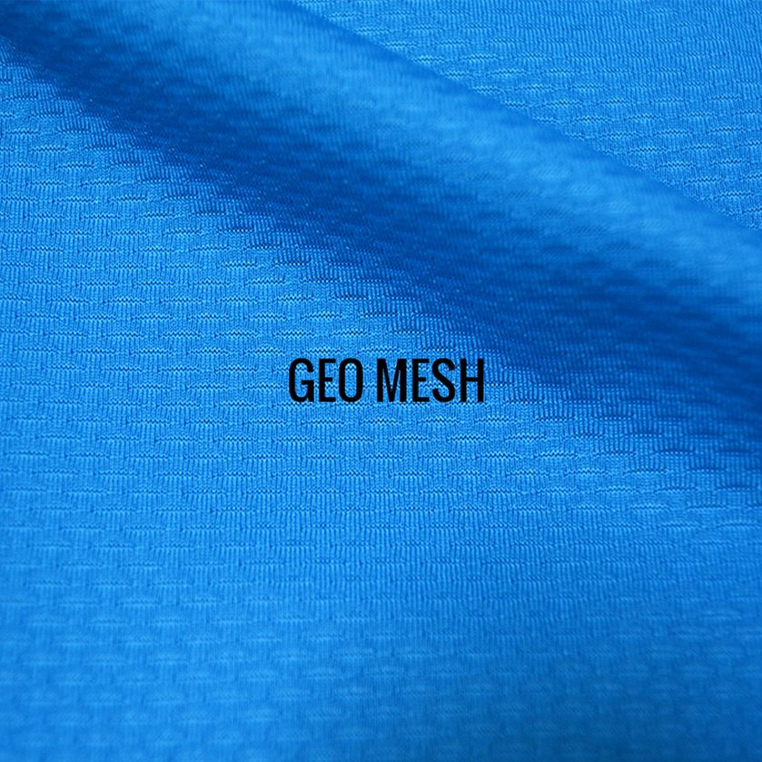 """GEO MESH"" I Shirt Fabric I 4-Way stretch poly/spandex blend fabric offers extreme comfort, flexibility & movement. Medium weight"
