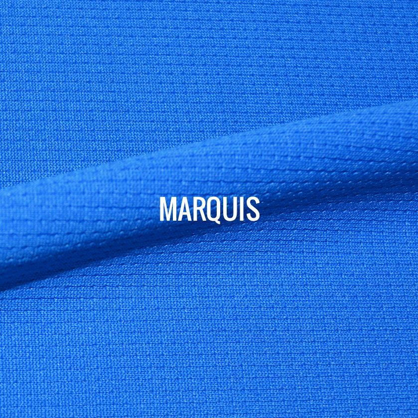 """MARQUIS"" I Shirt Fabric I 100% Performance poly with micro square texture. Super breathable with featherweight mobility. ALSO AVAILABLE IN RECYCLED POLY."