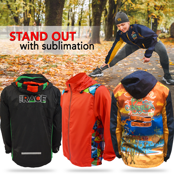 Stand out with Full Sublimation - All over Graphics!